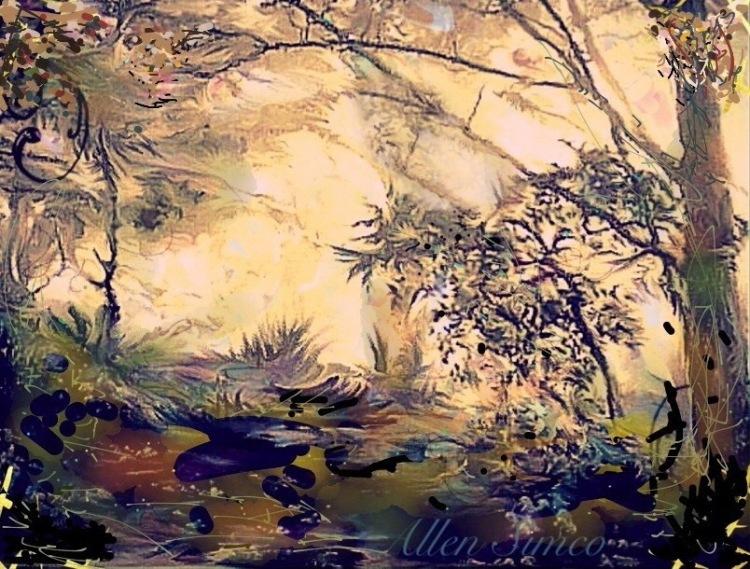 wild woods by allen simco